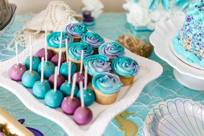 Eine kleien Hochzeit feiern, Cakepops