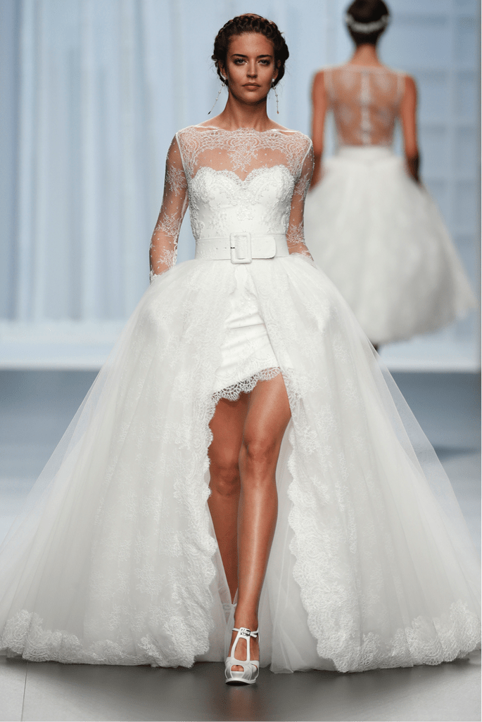 Foto: Rosa Clará by Barcelona Bridal Week