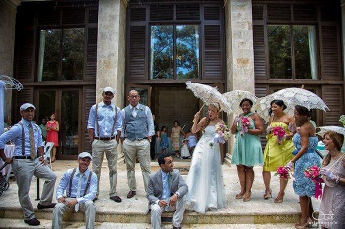Fotografía artística el día de tu boda con todos los invitados - Foto Arturo Ayala