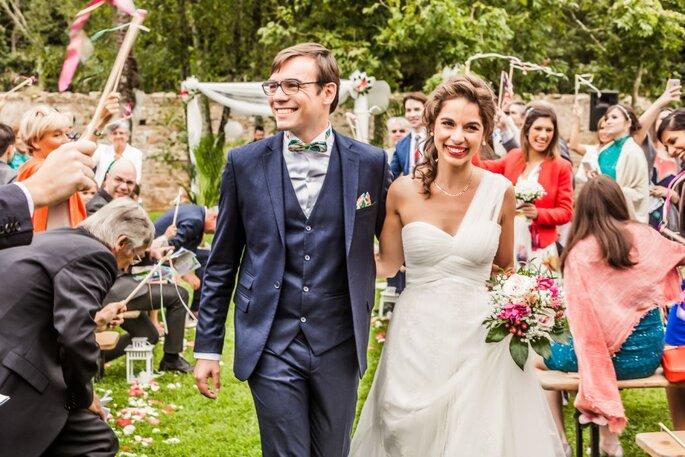 Noivo com gravata Dois Maridos