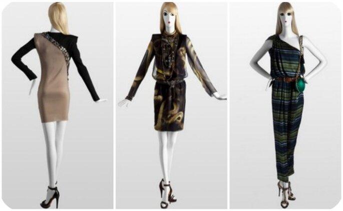 3 robes signées Lanvin