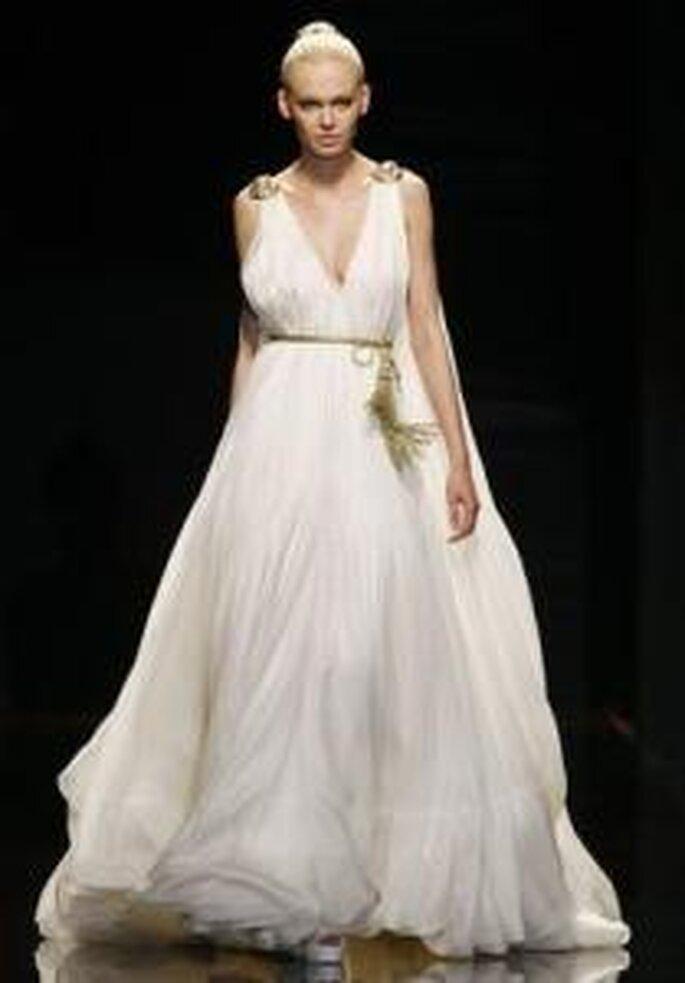 Vestidos de noiva Simples - estilo grego, Rosa Clará 2010