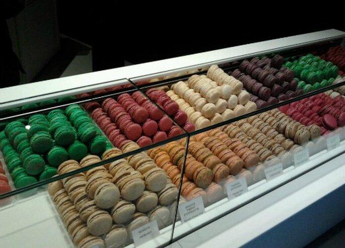 Macarons originales de París. Foto: Carmen Berbel