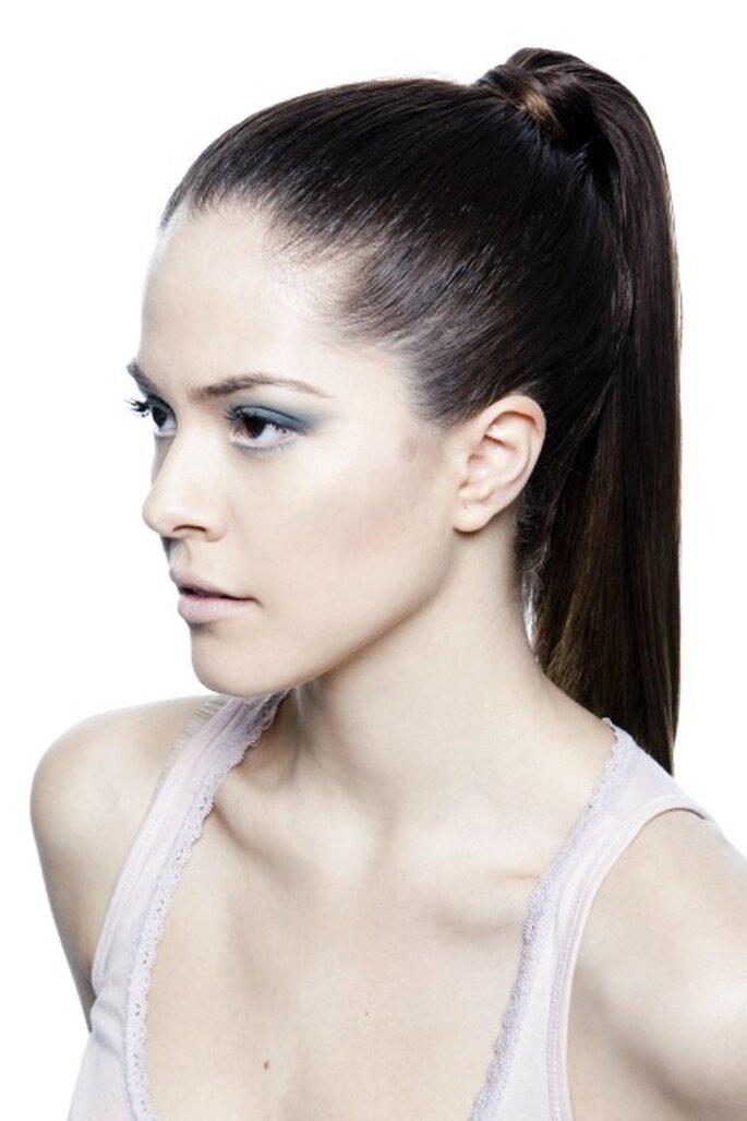 Las coletas son otra de las tendencias para peinados de novia 2012 - Art Lab