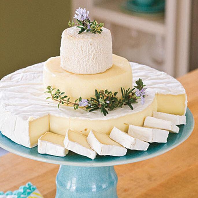 Gâteau de mariage en version Brie