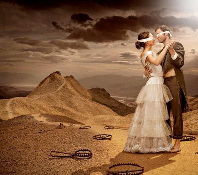 Se dice que trae mala suerte que el novio vea a la novia antes de la ceremonia