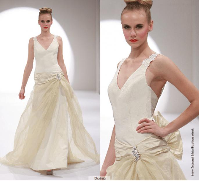 Vestido Darinia, colección 2012 Rubén Perlotti