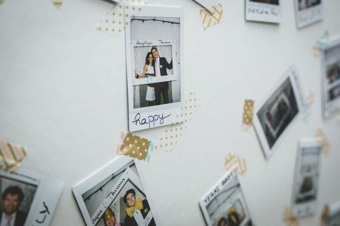 Un photocall sympa pour de beaux souvenirs - photo : La Femme Gribouillage photographe