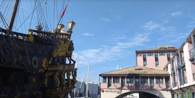 The best place to be: NH Hotel con la sua spettacolare vista sul Porto Antico
