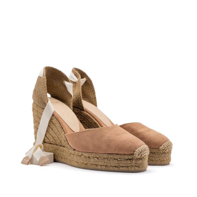 Sapato para casamento na praia