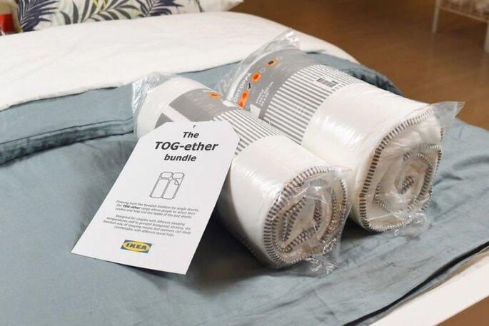 7aba32715e IKEA lancia il piumone per le coppie che litigano sotto le coperte ...