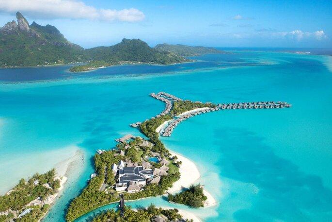 Resort de luxo em Bora Bora