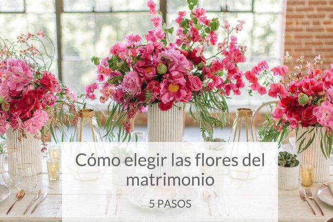 cómo elegir las flores del matrimonio