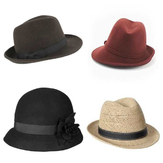 Proposte per cappelli: Forever 21, Jessica Simpson, Old Navy