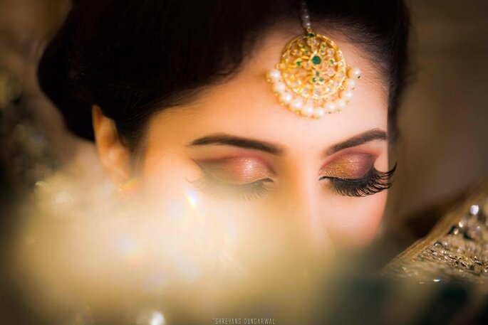 Photo: Makeup By Aliya Baig.