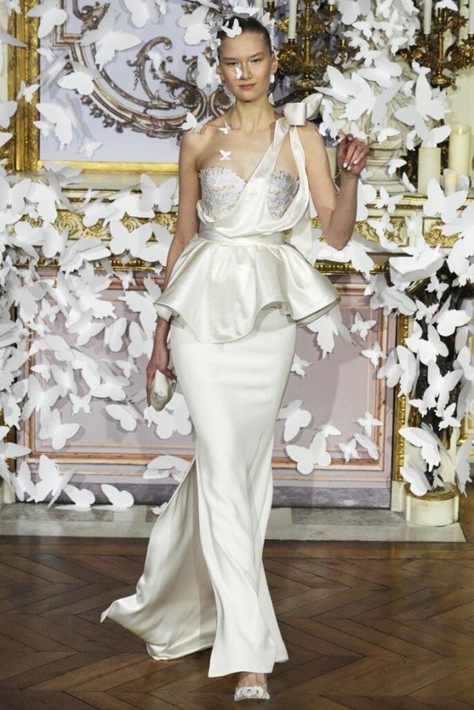 Los vestidos de novia alta costura que nos robaron el aliento este 2014 - Foto Alexis Mabille