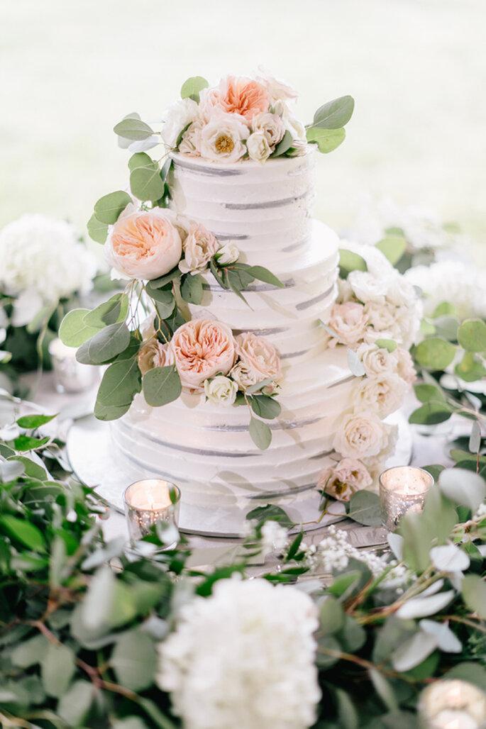 Romantische Hochzeitstorten