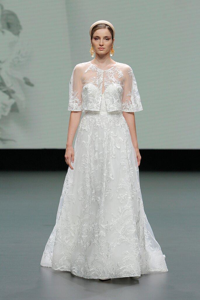 vestido de novia jesus peiro