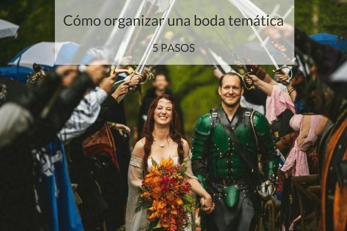Cómo hacer una boda temática