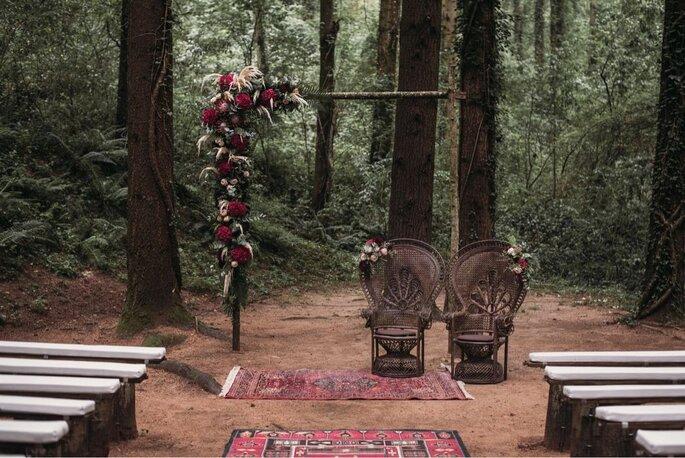 Cómo decorar una boda hippie