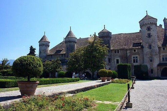 Mariage au Château de Ripaille en Haute-Savoie