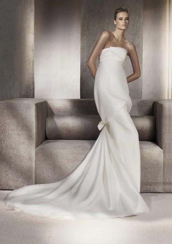 Vestidos de novia Manuel Mota para Pronovias 2012 - Proeza
