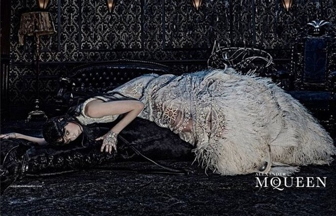 Alexander McQueen Bridal 2015