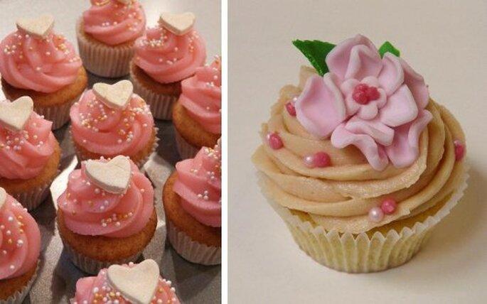 Oppure scegliete Cupcakes rosa - Foto's: Sugar Daze