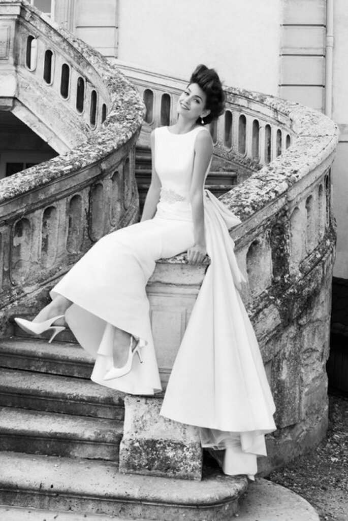 Biała suknia ślubna dla czterdziestotatki