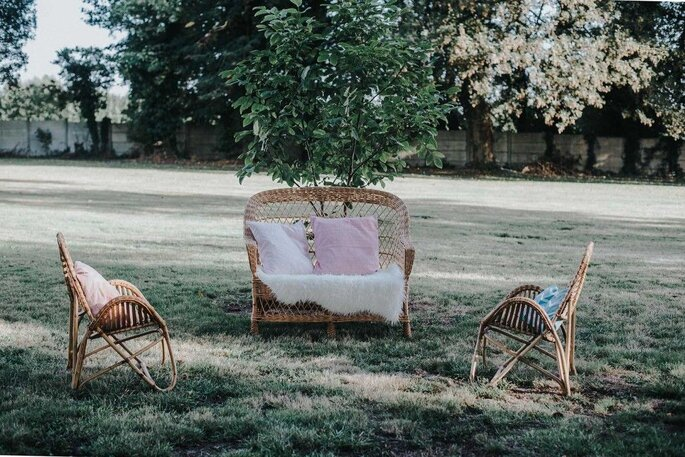 Photo : Save your date - mobilier vintage
