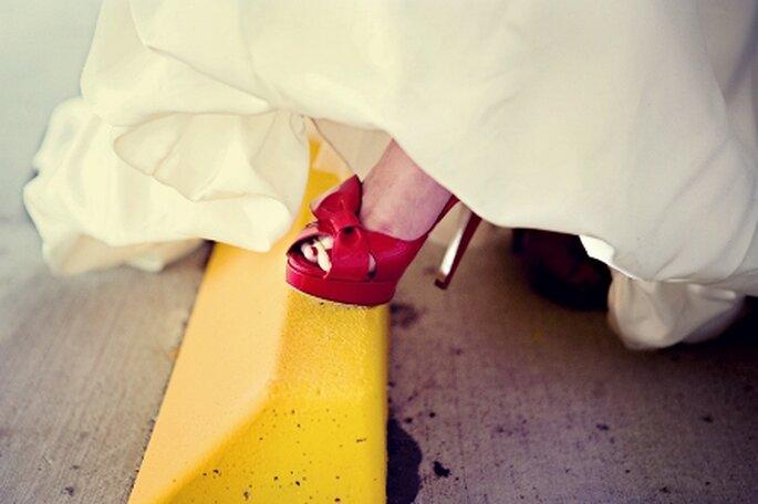 Zapatos en rojo
