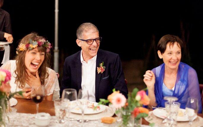 Felicidade em festa de casamento - Foto: Lirola & Cussó