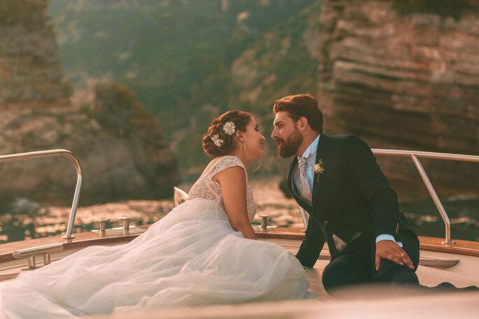 Luca Cuomo Photographer - sposi in barca