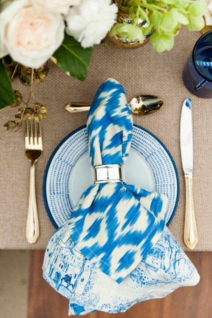 Azul ceruleo, color en tendencia para primavera 2014 - Foto Aislinn Kate Photography