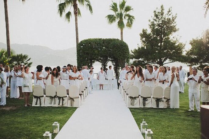 Mariage en petit comité à l'étranger, quoi de plus magique ? - Photo : Pedro Bellido