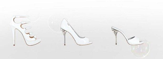 Tacco gioiello o fibbie...sono i dettagli che rendono unico un modello. Collezione Sposa Loriblu 2012