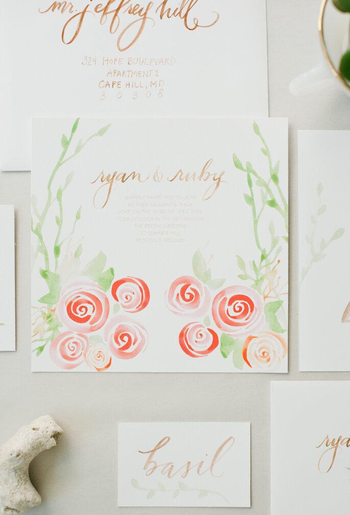 Una boda inspirada en la belleza de la naturaleza - Hazel Wonderland