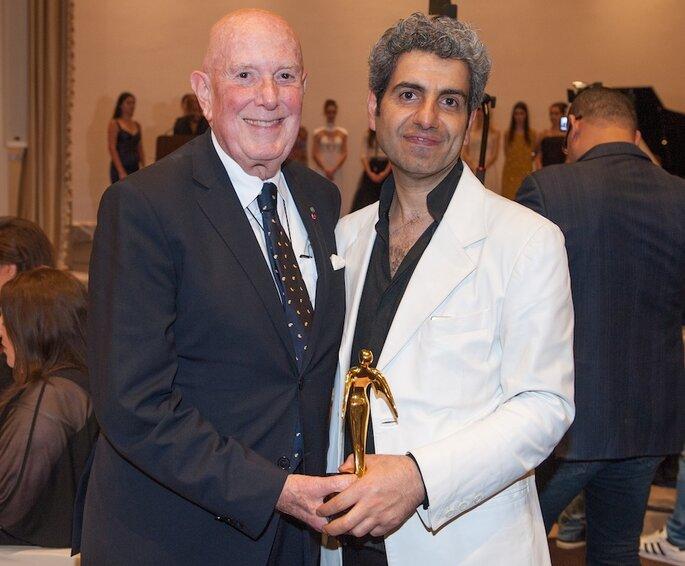 Jamal Taslaq all'Arab Fashion Week