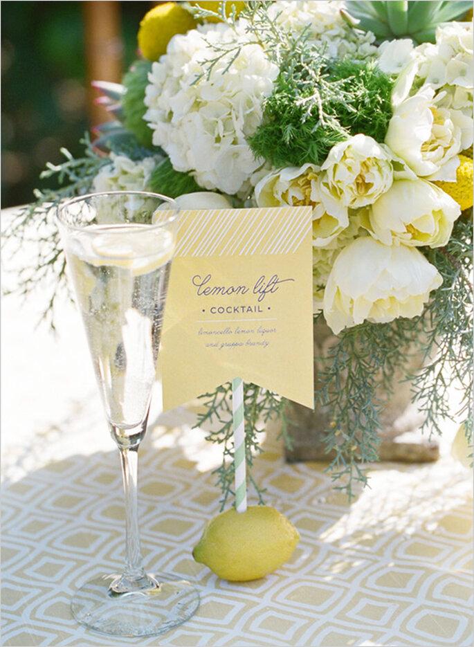 Décoration de mariage avec un jane subtil - Photo Lavender & Twine