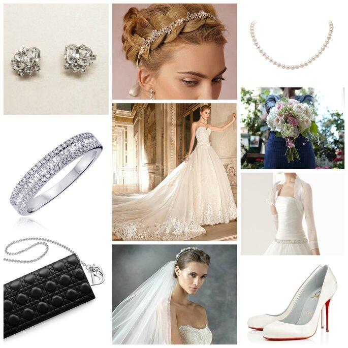 Look pour une mariée princesse : une robe