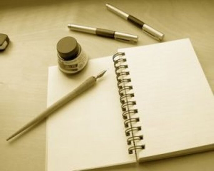 Cuaderno de boda