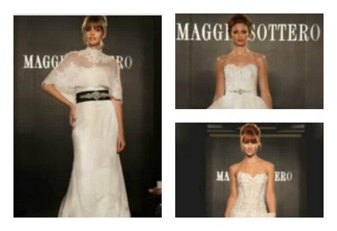 Abiti da sposa brillanti di Maggie Sottero. Foto: www.youtube.com