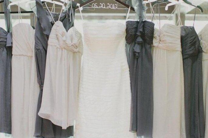 Consejos para elegir los vestidos de dama de boda - Foto Amsale Bridesmaid Facebook