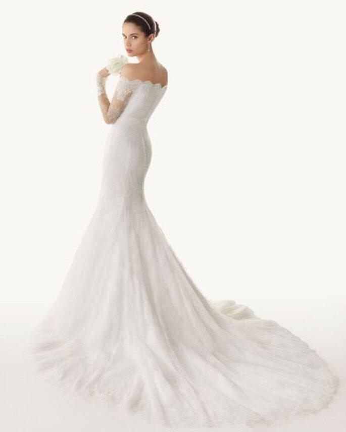 Vestido de novia Rosa Clará similar al que usó Anne Hathaway - Foto Rosa Clará