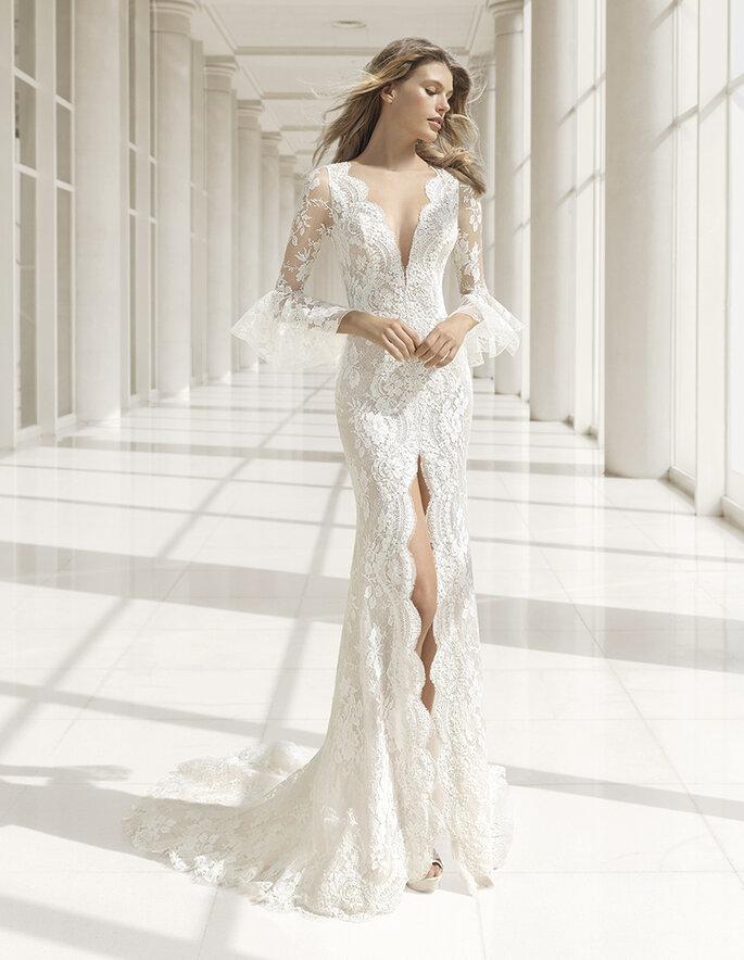 Vestidos de novia Rosa Clará 2018.