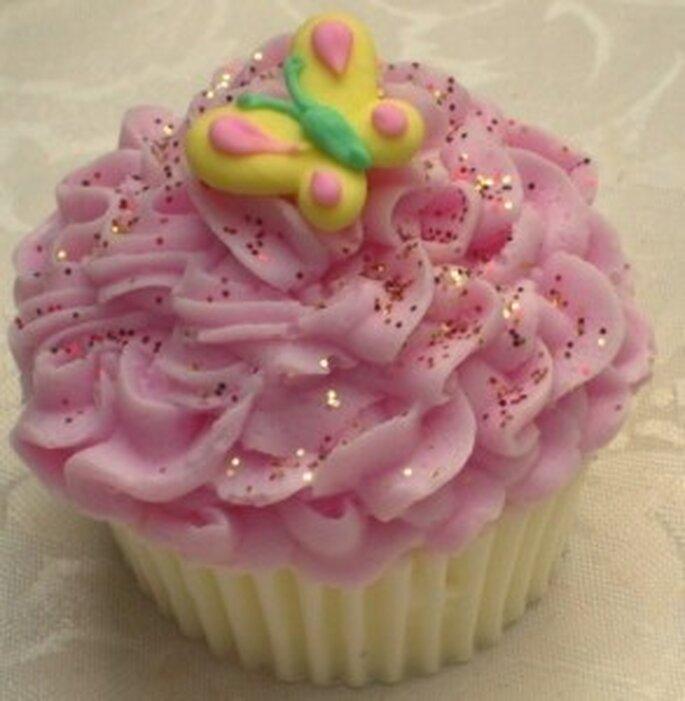 Cupcake savon