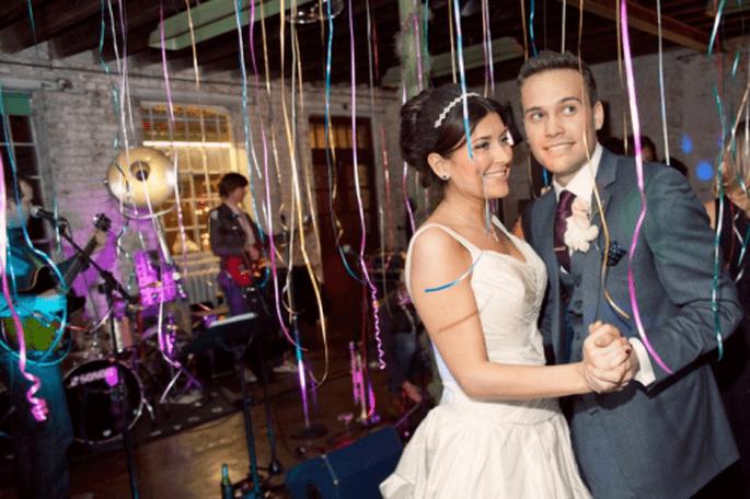 Utiliza listones para personalizar tu boda de forma económica - Foto Cotton Candy Weddings