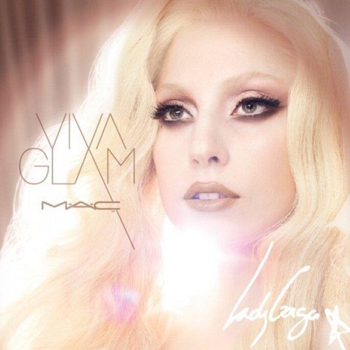 Maquillaje de novia inspirado en Lady GaGa - Foto M.A.C. Facebook