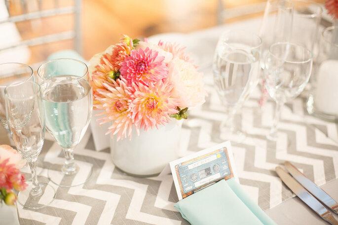 Chevron en la decoración de tu boda - Bryan Rupp