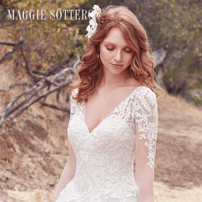 Berkley. Maggie Sottero: Cordelia Collection.